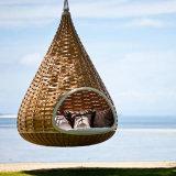 Daybed colgante de la base del ocioso de Sunbed de la silla de la cesta del jardín del bosque de la playa del salón al aire libre de los muebles