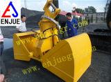 Compartimiento hidráulico del gancho agarrador del excavador con la cubierta