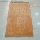 La mosquée Falanell gravent le tapis en relief de prière de mousse de 3D 1.2cm Thicknees