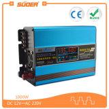 Omschakelaar van de ZonneMacht van Suoer 1000W gelijkstroom 12V 220V de Auto met Ingebouwd ZonneControlemechanisme (sus-1000A)