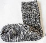 L'hiver cogne des chaussettes de Madame Cotton Socks Fashion Floor