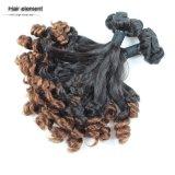 ブラジルの人間の毛髪のOmbreの緩い波のバージンの毛