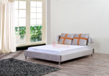 호화스러운 디자인 저가 침대는 이탈리아 가죽 침대를 만든다