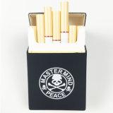 Het nieuwe Skelet van het Ontwerp van de Aankomst Unieke gaf het Vouwbare Geval van de Sigaret van het Silicone gestalte