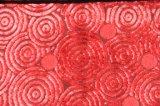 Cortar la tela de tapicería tejida terciopelo de la materia textil del sofá del poliester