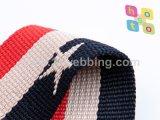 Tessitura calda del jacquard del poliestere di vendita per le cinghie degli accessori dei sacchetti
