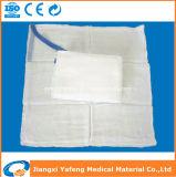 Medizinische saugfähige sterile Schoss-Schwamm-Auflage mit Anzeige-Band