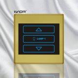 플라스틱 개략 프레임 (SK-T2300D1)에 있는 1개의 갱 제광기 스위치