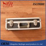 Caixa de ferramentas de alumínio com o fechamento para a ferramenta Z-1021