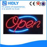 Geöffnetes Zeichen der Hidly Vierecks-Niederspannungs-LED