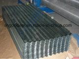 Colorear la hoja galvanizada metal acanalado revestido de la azotea del cinc
