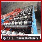 Roulis hydraulique de panneau de toit de feuillard d'Ibr formant la machine 1220