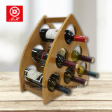 Triange Unique Pyramid Wooden Wine Rack com alta qualidade