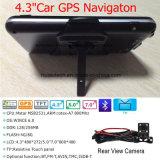 """Modulo incorporato di Glonass GPS """" del in-Precipitare 4.3 dell'automobile di percorso tenuto in mano portatile classico di Moto, trasmettitore di FM, Wince 6.0, navigatore G-4301 di GPS dell'antenna di ricevente di GPS dell'automobile"""