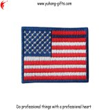Заплаты вышивки конструкции флага страны подпирают с велкроим (YH-EB140)