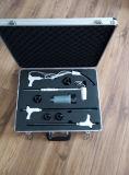 Серебряная алюминиевая коробка с почищенной щеткой панелью металла (keli-D-50)