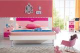La base di legno dei capretti, camera da letto dei capretti scherza la mobilia (8866)