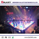 Diodo emissor de luz magro super Dance Floor da luz interativa sensível elevada do estágio do pixel P6.25/P8.928