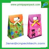 Sac de empaquetage de cadeau d'anniversaire de sucrerie de mode de confiserie faite sur commande de sacs à main