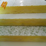 Telha revestida do teto das lãs de vidro do PVC do Não-Formaldehyde da Calor-Isolação