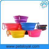 Amazon Hot Sale Pet Supply Product Silicone Pet Dog Bowl