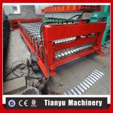 Gewölbte Stahlfliese-Dach-Panel-Rolle, die Maschine To100 bildet