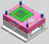 Inserções permutáveis do molde para dar forma à vária modelagem por injeção plástica de aço inoxidável do PVC das grelhas das versões