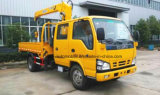 3 tonnes d'équipage de cabine de prix montés double de cabine d'Isuzu 3t par camion de grue