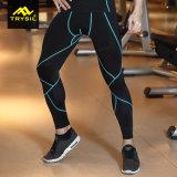 Pantaloni di forma fisica dei vestiti di ginnastica di Legging di sport del Mens