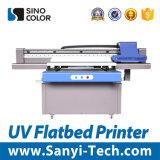 Impresora plana ULTRAVIOLETA grande de la impresora de la inyección de tinta con la cabeza de impresora de Epson