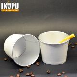 Nuevas tazas del tazón de fuente de papel del helado para la ensalada del helado