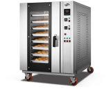 Un forno elettrico dei 8 cassetti (8D)
