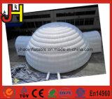 Tente gonflable blanche extérieure géante de dôme à vendre