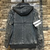Moda New Knit Men Jacket with Hood