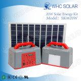 Portable 7 LED Bulb DC Solar Energy System Kit para casa