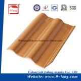 Mattonelle di tetto di ceramica di collegamento cinesi dell'argilla delle mattonelle di tetto della villa