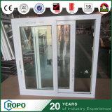 Energia australiana do PVC dos padrões que avalia Windows deslizante vitrificado dobro