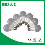 Bulbos claros do diodo emissor de luz A60 9W E27 Alum+Plastic
