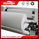 """Rodillo enorme papel de la sublimación de la talla 50g 60 """" con la tinta de alta densidad de la sublimación para la impresión de materia textil"""