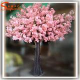 árbol artificial blanco del flor de cereza 10f para la decoración de la boda