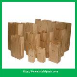 Sacchi di carta quadrati del tasto