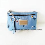 Multi signora Nylon Embroidery Wallets (NMDK-061608) della casella della moneta di modo