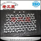Yg11c 텅스텐 시멘트가 발라진 탄화물 공백 끝