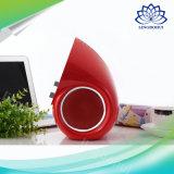 Altavoz portable estéreo sin hilos de Bluetooth con el ajuste doble de la rotación del doble del volumen