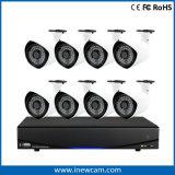 magnetoscopio NVR della rete del CCTV di 8CH 1080P Poe con Ce