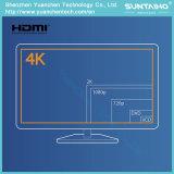 1.4/2.0V HDMI de alta velocidad al cable de HDMI con Ethernet para 1080P/2160 TVAD, DV
