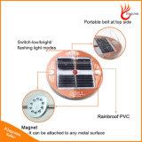 Luz de emergencia Luz solar magnética portable LED solar para interior / exterior uso de excursión que acampa