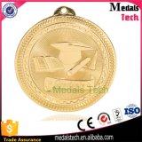65mm Tamaño Oro Plata Bronce Medalla en blanco de los deportes baratos
