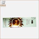 De lujo personalizado de la pestaña del cepillo Caja de empaquetado de papel cosmética caja de embalaje caja de papel de impresión