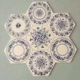 200 * 230 mm rústico antideslizante Azulejos Cuarto de baño 6 esquinas de ladrillo piso
